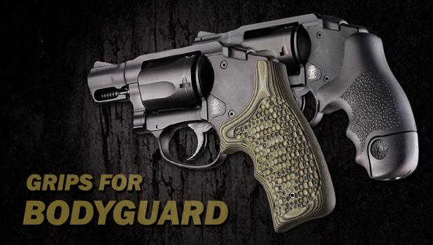 Polymer Bodyguard Revolvers - Grips for Smith & Wesson - Handgun