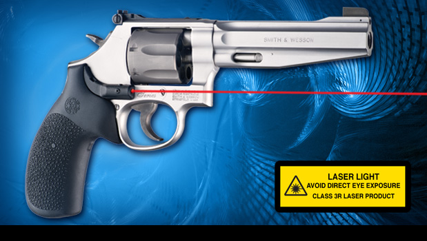 Smith & Wesson K/L Frame Round Butt - Laser Enhanced (LE) Grips ...