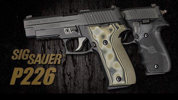 P226 - SIG SAUER Grips - Handgun Grips - Hogue Products