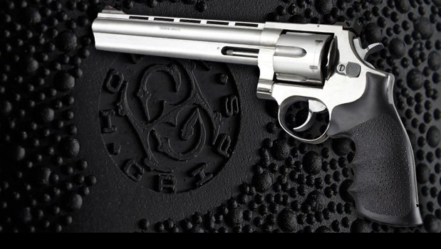 Hogue Taurus Soft Rubber Grip for Medium Frame Revolver BLACK # 66000 New! Sport en vakantie