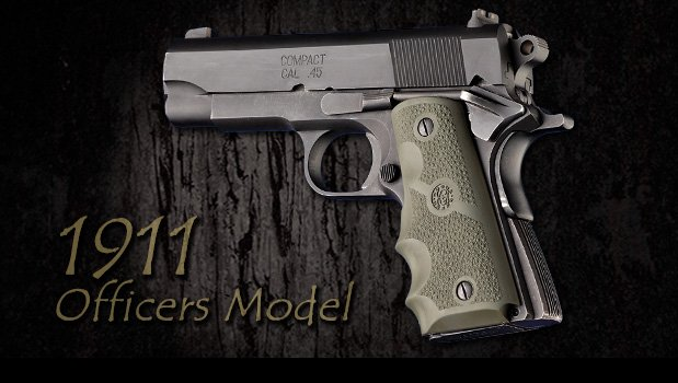 Officers 1911, Compact and Clones - 1911 Grips - Handgun