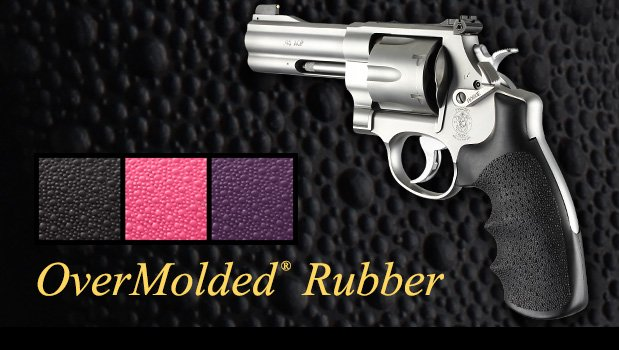 Soft OverMolded Rubber & Nylon