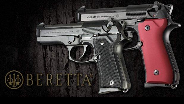 92/96 Series Compact - Beretta Grips - Handgun Grips - Hogue Products