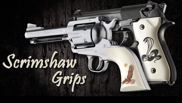 CZ-75 - Scrimshaw Grips - Specialty Products - Hogue Products
