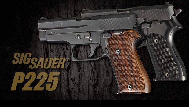 P225 - SIG SAUER Grips - Handgun Grips - Hogue Products