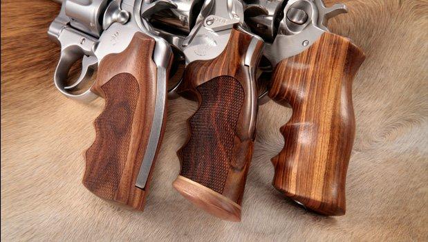 Fancy Hardwoods - Python (I Frame) - Colt Grips - Handgun Grips