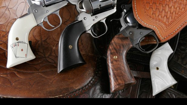 Cowboy Action Grips