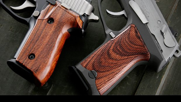 Fancy Hardwoods P85 P89 P90 And P91 Ruger Grips