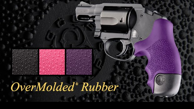Soft OverMolded Rubber - Polymer Bodyguard Revolvers - Grips