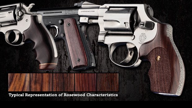 Rosewood - Dark with varying figure