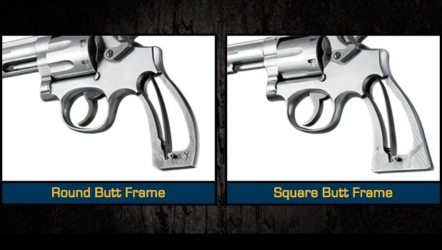 K and L Frame Revolvers - Grips for Smith & Wesson - Handgun