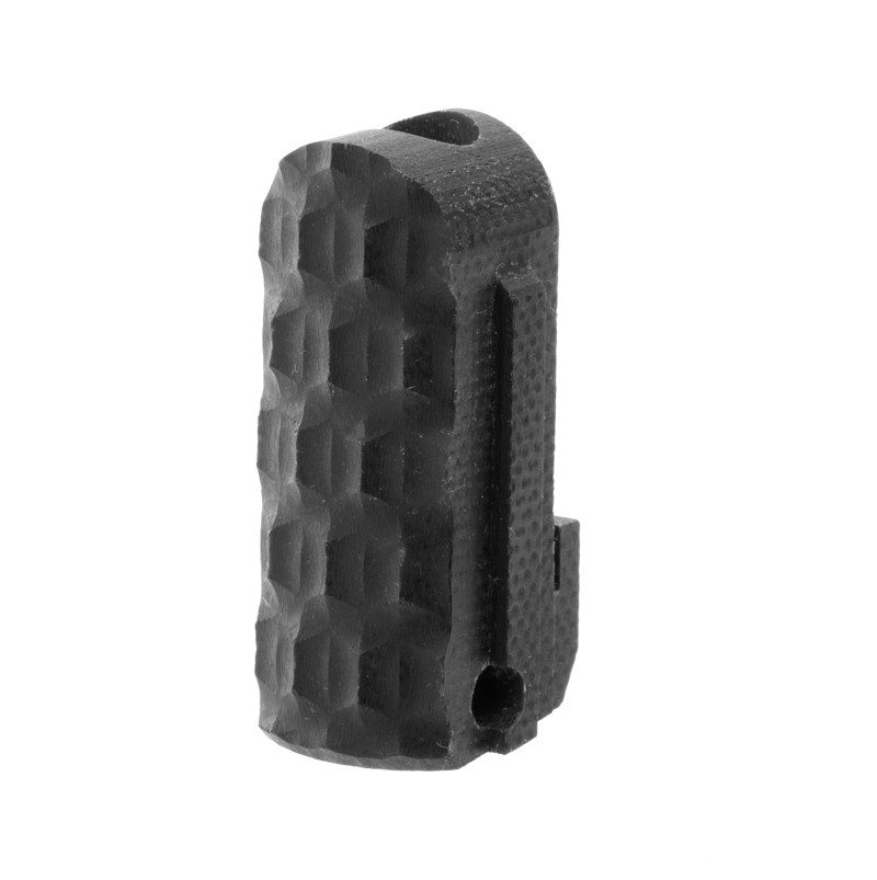 SIG P238, P938 Mainspring Housing: Chain Link G10 - Solid Black