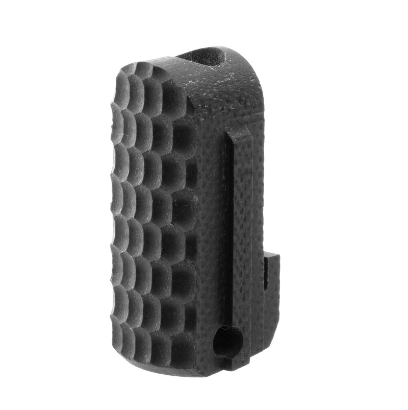 SIG P238, P938 Mainspring Housing: Piranha G10 - Solid Black