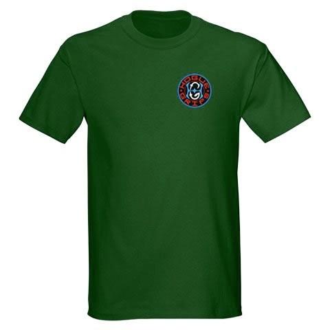 Hogue Grips T-Shirt XX-Large Forest Green