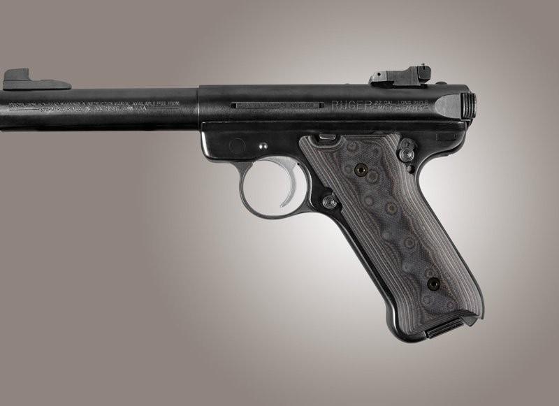 Ruger MK II / MK III G10 - G-Mascus Black/Gray