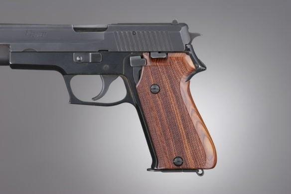 SIG Sauer P220 Cocobolo European Model Checkered