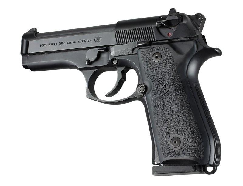 Beretta 92/96 series Rubber Grip Panels Black