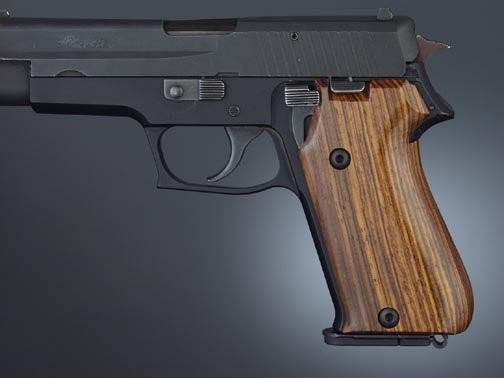 SIG Sauer P220 Cocobolo European Model