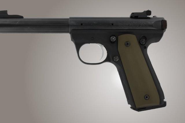 Ruger MK III 22/45 RP Aluminum - Matte Green Anodize