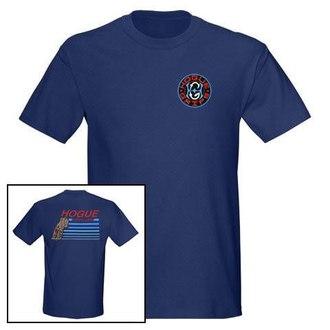 Hogue Grips T-Shirt Medium Blue