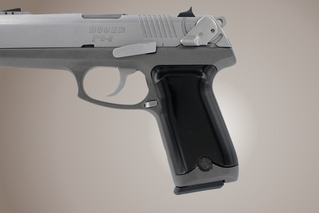 Ruger P94 Aluminum - Brushed Gloss Black Anodize