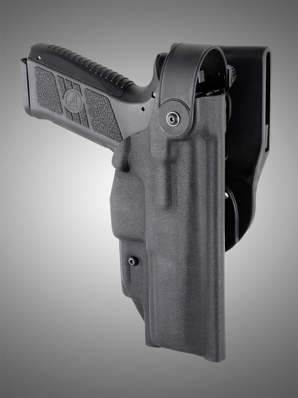 ARS Stage 2 - Duty Holster CZ P-07 P-09 Right Hand Black
