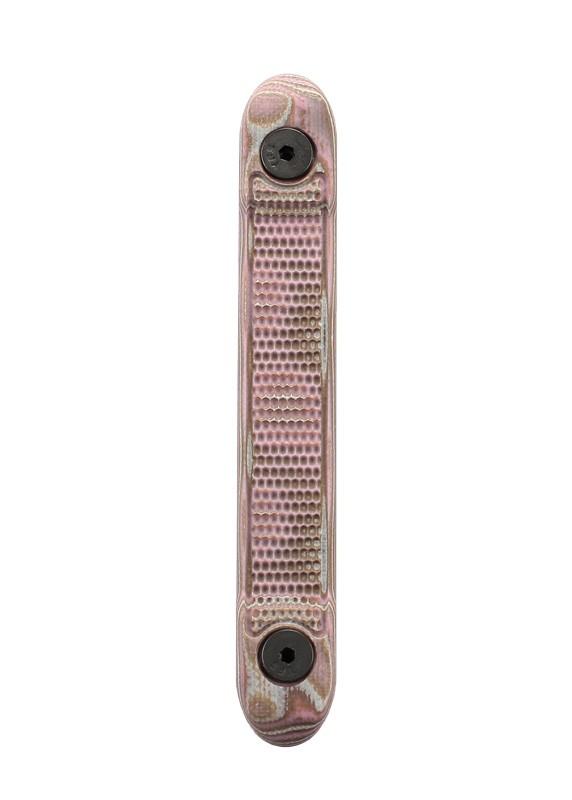 Key Mod Rail Cover G10 G-Mascus Pink Lava with Mini Piranha Texture