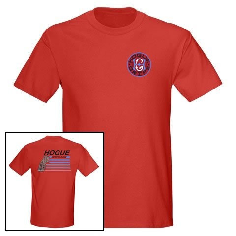 Hogue Grips T-Shirt XX-Large Red