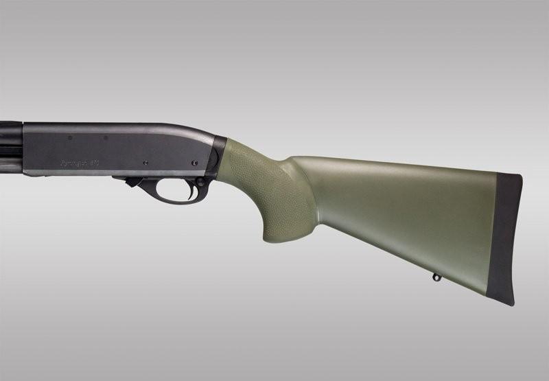 Remington 870 20 Gauge: OD Green OverMolded Shotgun Stock