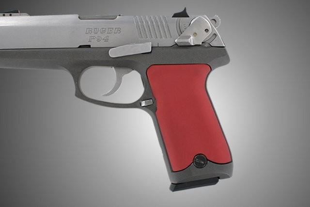 Ruger P94 Aluminum - Matte Red Anodize