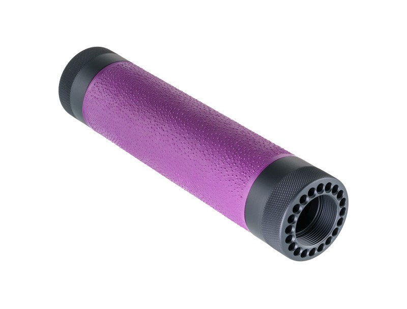 AR-15 / M16: (Mid Length) OverMolded Free Float Forend - Purple