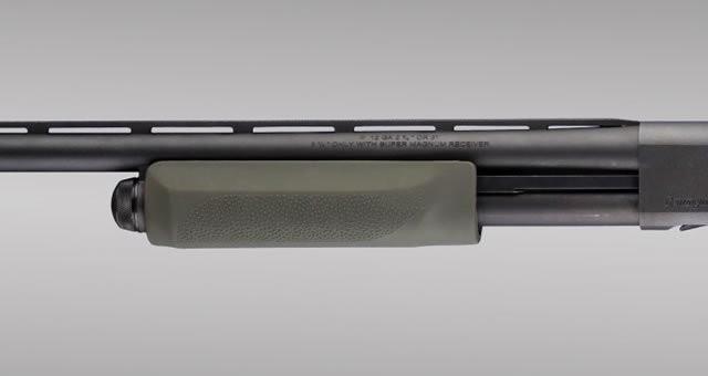 Remington 870 20 Gauge: OD Green OverMolded Shotgun Forend