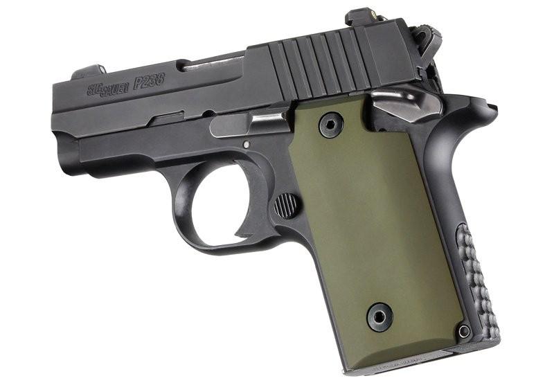 SIG Sauer P238 Aluminum - Matte Green Anodize