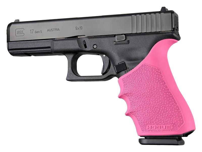 GLOCK 17, G17L, G19X, G34, G34 MOS Gen 1-2-5: HandALL Beavertail Grip Sleeve - Pink
