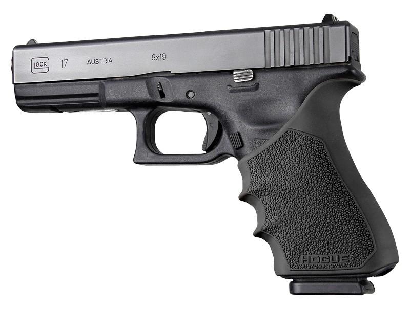 HandAll Beavertail Grip Sleeve Glock 17, G17 MOS, G17L, G22, G35, G35 MOS, G34, G34 MOS, G31, G37 Gen 3-4 Black