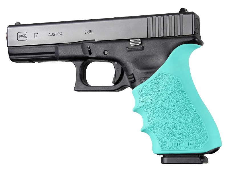 HandAll Beavertail Grip Sleeve Glock 17, G17 MOS, G17L, G22, G35, G35 MOS, G34, G34 MOS, G31, G37 Gen 3-4 Aqua