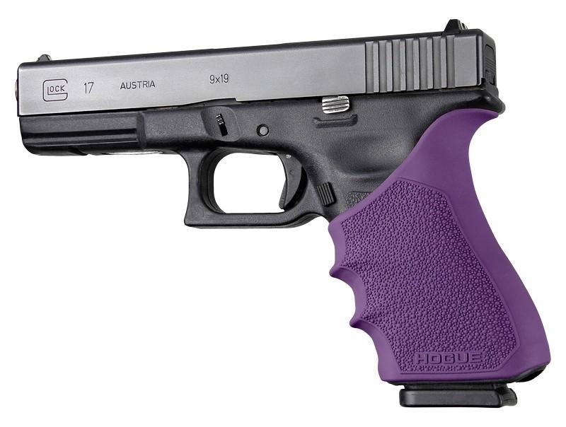 HandAll Beavertail Grip Sleeve Glock 17, G17 MOS, G17L, G22, G35, G35 MOS, G34, G34 MOS, G31, G37 Gen 3-4 Purple