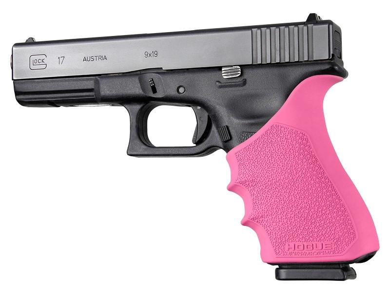 HandAll Beavertail Grip Sleeve Glock 17, G17 MOS, G17L, G22, G35, G35 MOS, G34, G34 MOS, G31, G37 Gen 3-4 Pink