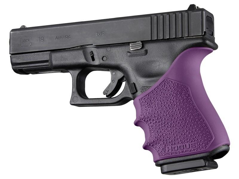 HandAll Beavertail Grip Sleeve Glock 19, 23, 32, 38 Gen 3-4 Purple
