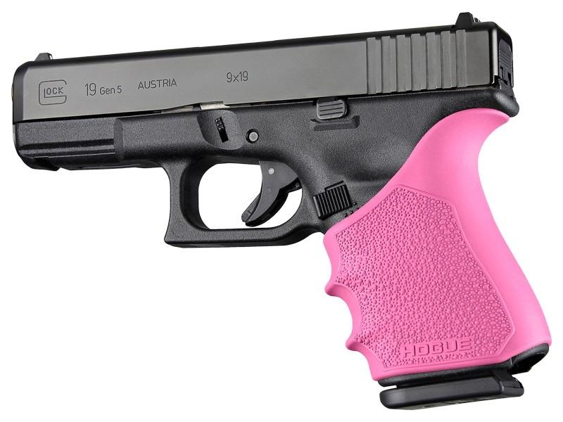 HandAll Beavertail Grip Sleeve Glock 19, 23, 32, 38 Gen 1-2-5 Pink