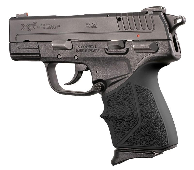 Springfield Armory XD-E 9mm/.45ACP: HandALL Beavertail Grip Sleeve - Black