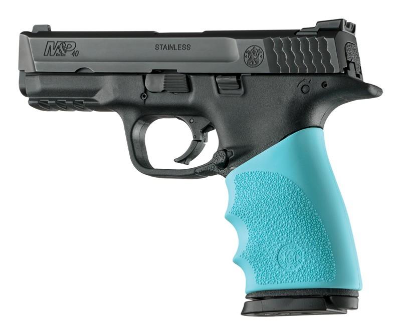 Handall Hybrid S&W M&P 9MM, 40S&W, 357SIG Grip Sleeve Aqua