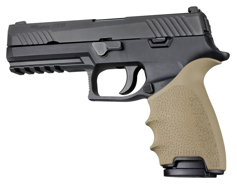 SIG SAUER P320 Full Size: HandALL Beavertail Grip Sleeve - FDE