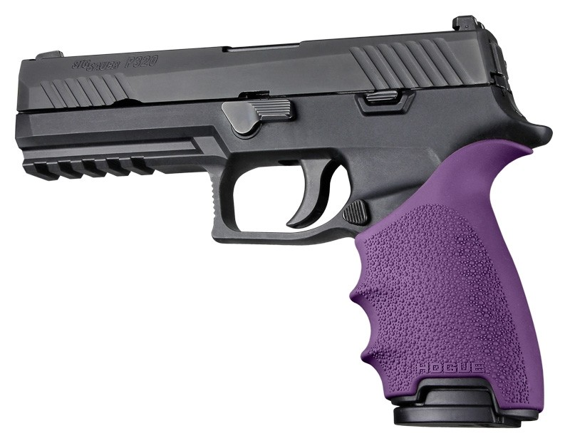 HandAll Beavertail Grip Sleeve Sig Sauer P320 Full Size Purple