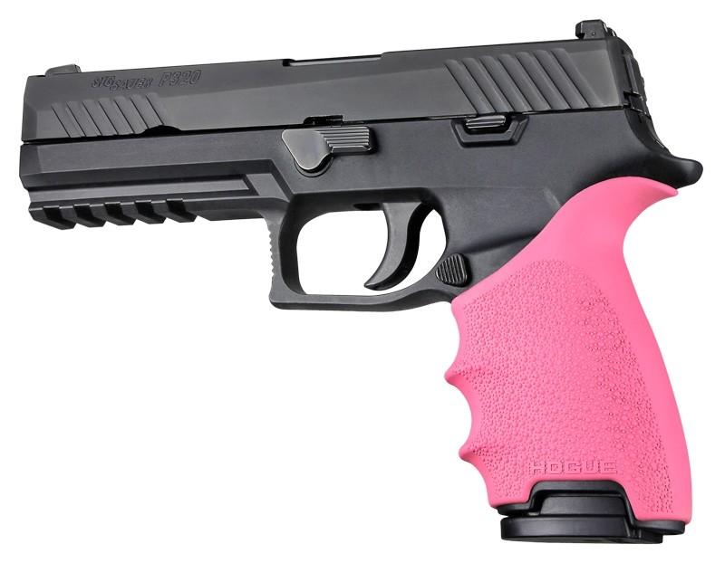 SIG SAUER P320 Full Size: HandALL Beavertail Grip Sleeve - Pink