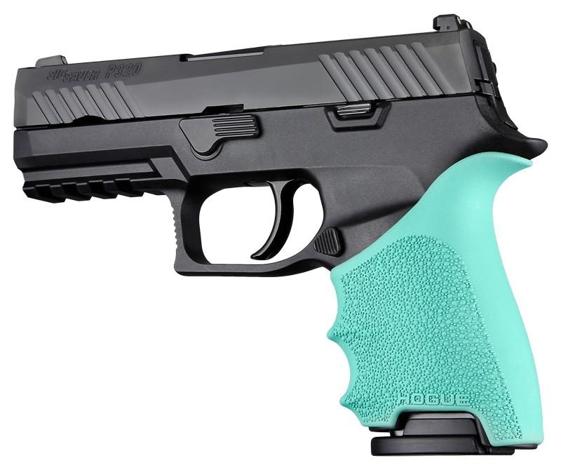 SIG SAUER P320 Compact: HandALL Beavertail Grip Sleeve - Aqua