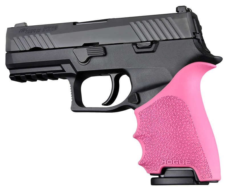 HandAll Beavertail Grip Sleeve Sig Sauer P320 Compact Pink