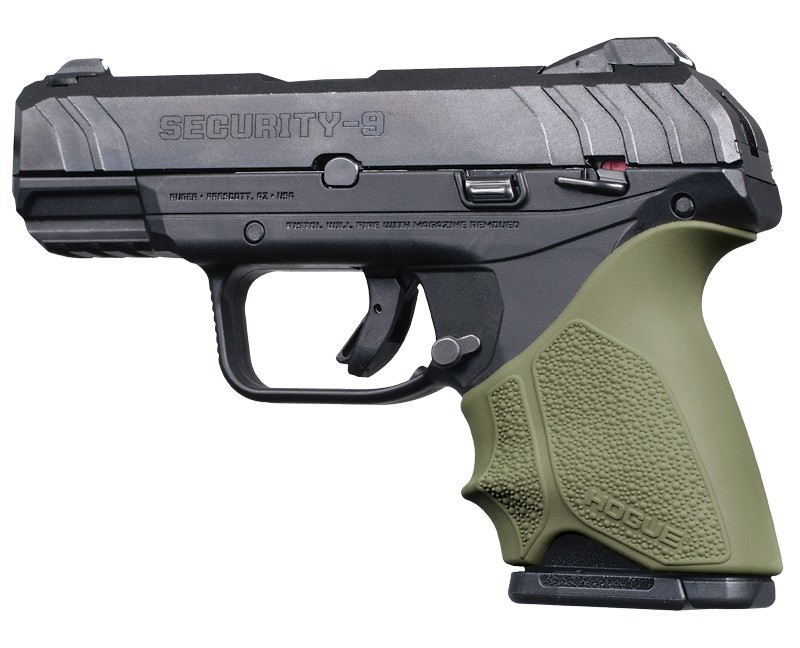 Ruger Security 9 Compact: HandALL Beavertail Grip Sleeve - OD Green