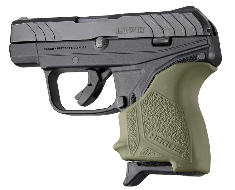 Ruger LCP II: HandALL Beavertail Grip Sleeve - OD Green