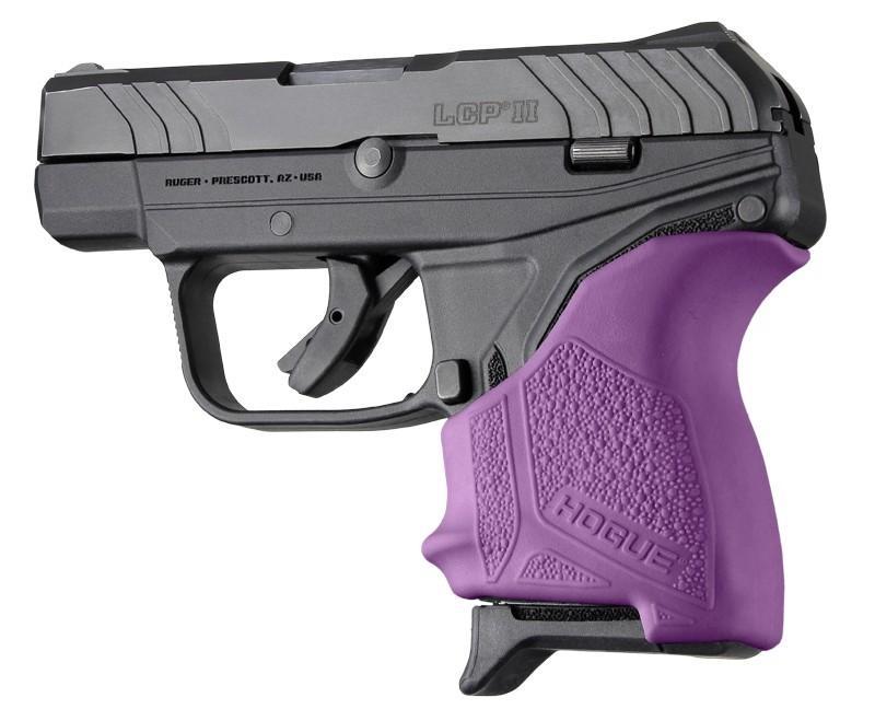 Ruger LCP II: HandALL Beavertail Grip Sleeve - Purple
